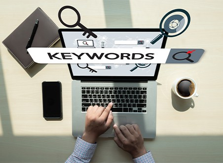 Amazon keywords and search terms